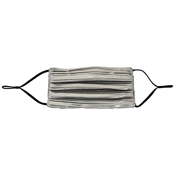 Mundbedeckung - Metallic Grey