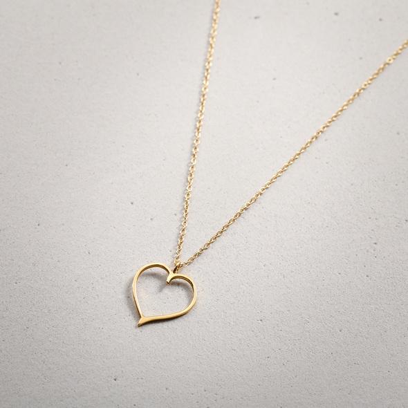 Kette - Fine Heart