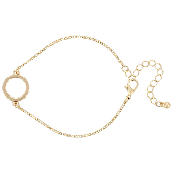Armband - Fine Gold Circle