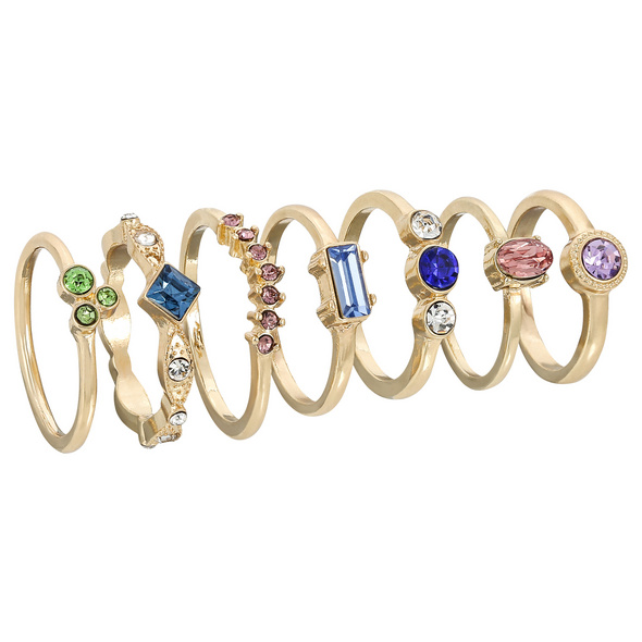 Ring - Nice Colourful Set