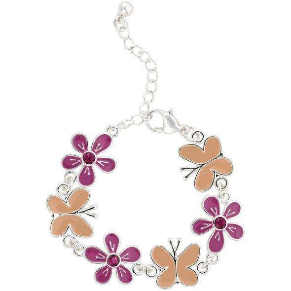 Kinder Armband - Blumen Wunder