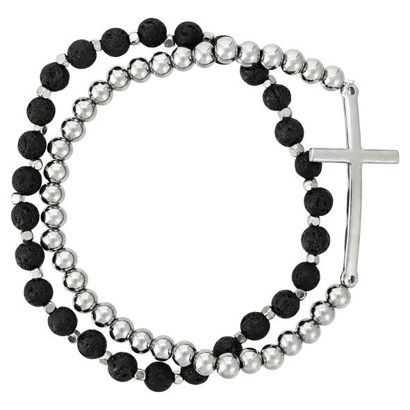 Herren Armband-Set - Lava Cross