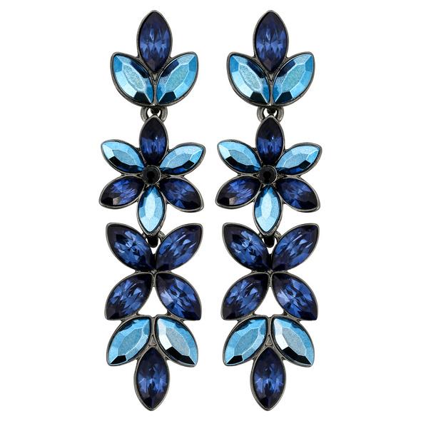 Ohrstecker - Blue Flower