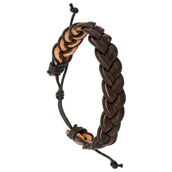 Armband -  New Braided Leather