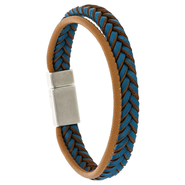 Armband - Braided Blue