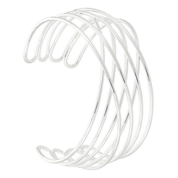 Armreif - Silver Twisted