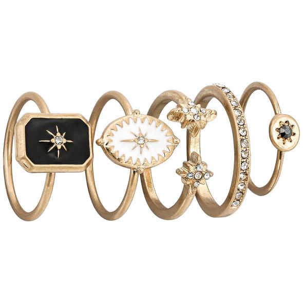 Ring-Set - Golden Baroque