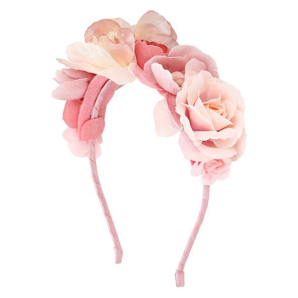 Haarreif - Pink Rose