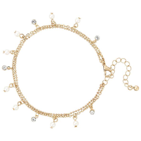 Fußkettchen - Elegant Pearl
