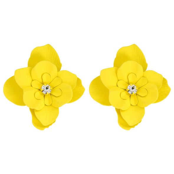 Ohrstecker - Bright Yellow Flower