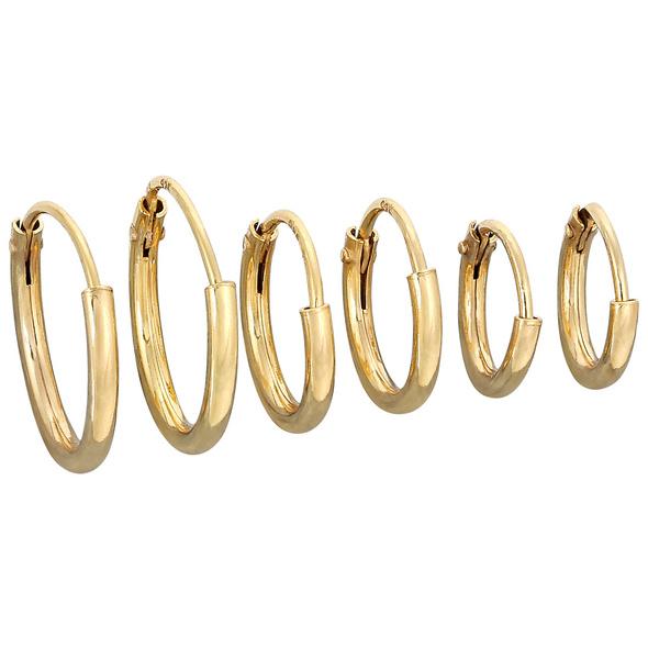 Ohrring Set - Gold Set