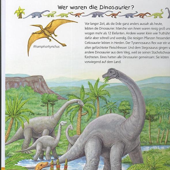WWW Alles über Dinosaurier