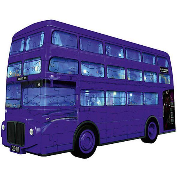 3D-Puzzle Doppelstock-Bus, B28cm, 216 Teile, Harry Potter Knight Bus