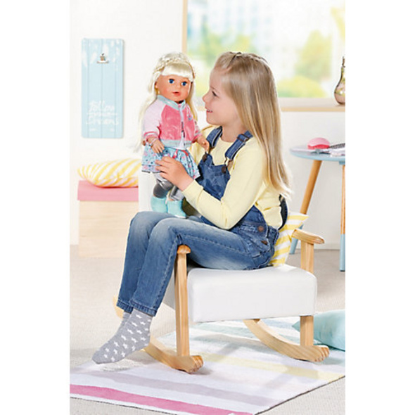 Exklusiv BABY born Soft Touch Sister blond 43 cm SPECIAL