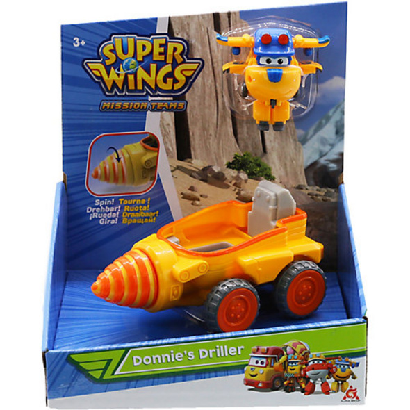 Super Wings Donnie's Driller