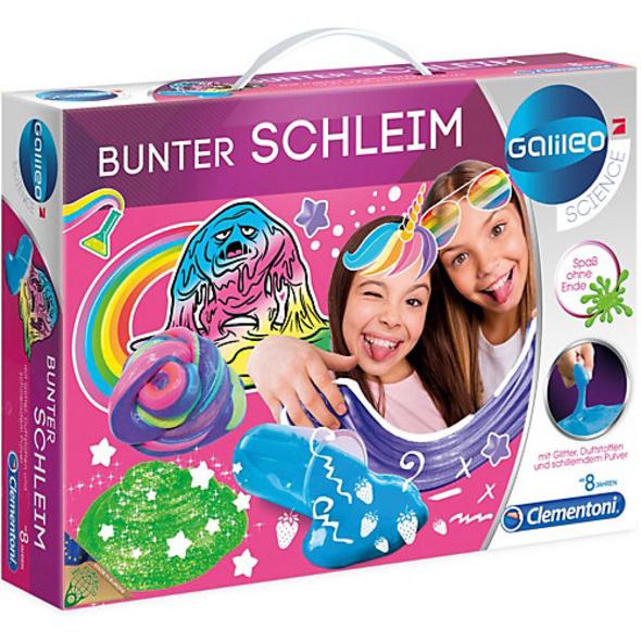 Bunter Schleim