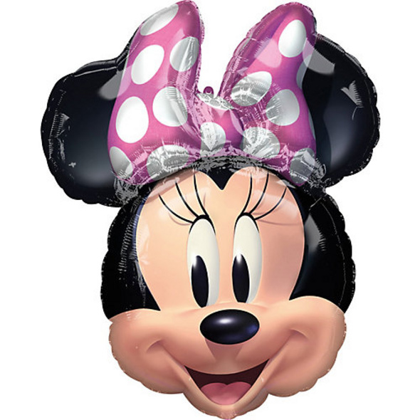 Folienballon SuperShape Minnie Maus Forever, 53 x 66 cm