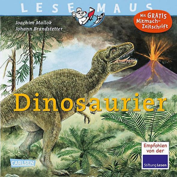 Lesemaus: Dinosaurier