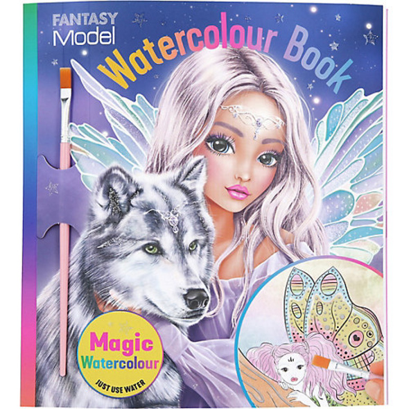 TOPModel Malbuch Watercolour FAIRY