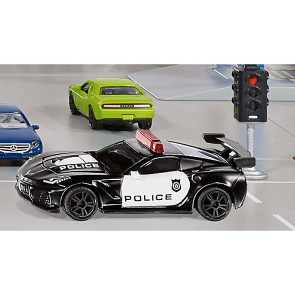 SIKU Chevrolet Corvette ZR1 Police