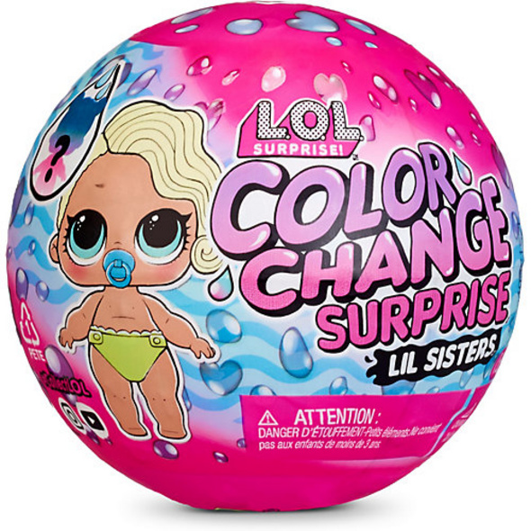 L.O.L. Surprise Color Change Lil Sisters, sortiert