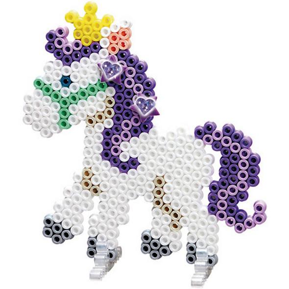HAMA 3252 Geschenkpackung Ponyspaß, 2.000 midi-Perlen & Zubehör