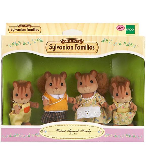 Sylvanian Families Walnuss Eichhörnchen: Familie Knacks