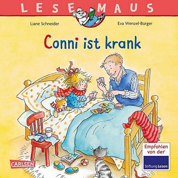 Lesemaus: Conni ist krank