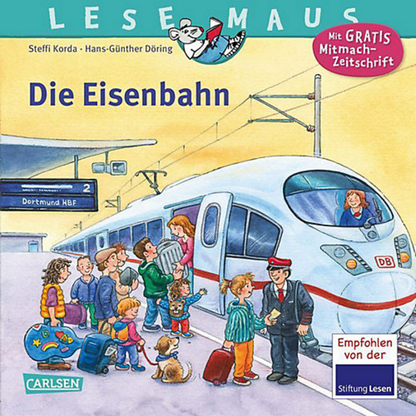 Lesemaus: Die Eisenbahn