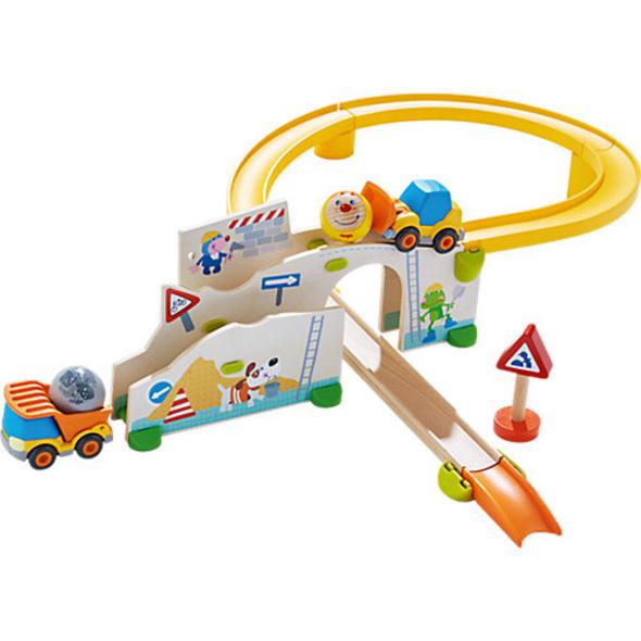 HABA 303081 Kullerbü - Spielbahn auf der Baustelle