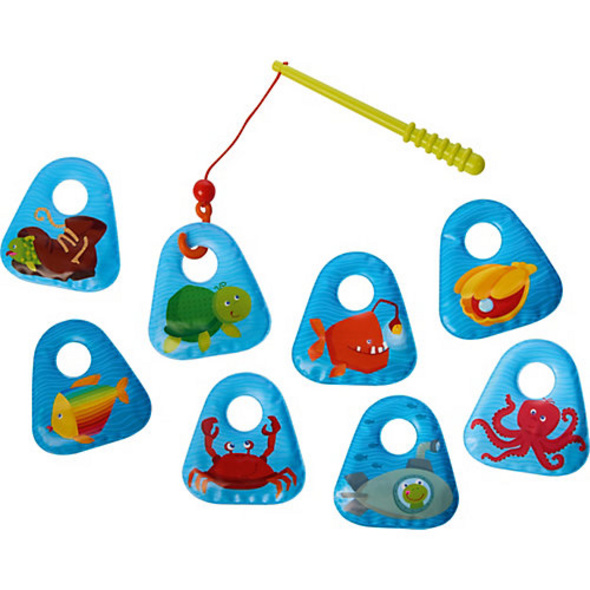 Badespielzeug Angelset Meerestiere