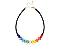 Kette - Rainbow Pearls