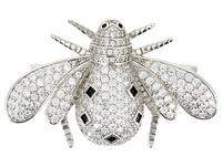 Brosche - Brilliant Bee