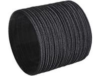 Haargummis - 12er-Set schwarz