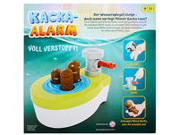 Mattel Games Kacka-Alarm! Voll Verstopft, Kinderspiel, Aktionsspiel