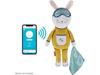 Fisher-Price Traumhäschen mit App, Einschlafhilfe Baby, Schlaftraining Kleinkinder