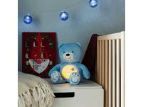 Nachtlicht mit Musik Baby Bär, blau
