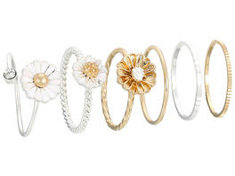 Ring-Set - Fancy Daisies