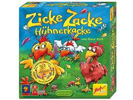 SPIEL DES JAHRES - Sonderpreis Kinderspiel 1998 Zicke Zacke Hühnerkacke