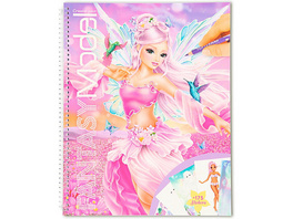 TOPModel Create your TOPModel Malbuch FAIRY mit Stickern