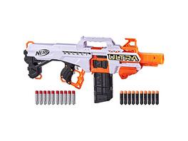 Nerf Ultra Select vollmotorisierter Blaster, Distanz- oder Präzisionsschüsse, mit Magazinen und Darts, nur mit Nerf Ultra Darts kompatibel
