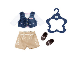 BABY born® Trachten-Outfit Junge 43cm, Puppenkleidung