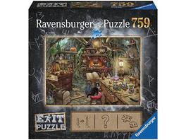 EXIT Puzzle 759 Teile, 70x50 cm, Exit 3: Hexenküche
